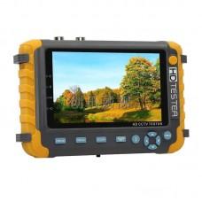 "IV8W HD CCTV Tester 8MP CCTV Camera Tester IP Camera Tester 5"" Display AHD CVI TVI CVBS VGA HDMI"