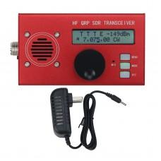 USDX USDR HF QRP SDR Transceiver SSB/CW Transceiver 8-Band 5W DSP SDR With Red Shell For Ham Radio