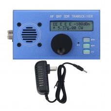 USDX USDR HF QRP SDR Transceiver SSB/CW Transceiver 8-Band 5W DSP SDR With Blue Shell For Ham Radio