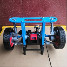 Vehicle Steering Differential Structure Macpherson Suspension Spherical Half Shaft 3D Printing Model