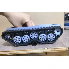 Low-Speed High-Torque Tracked Vehicle Chassis Tank Chassis DIY Climbing Car Robot Toy 3D Printing