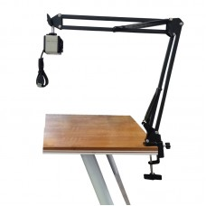 Hsk-800w 2K 8MP HD Digital Camera Built-In Mic Swing Arm For Online Remote Education Livestreaming