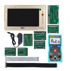TV160 7Th Generation TV LCD Main Board Tester Vbyone & LVDS To HDMI + ZT-C1 Digital Multimeter