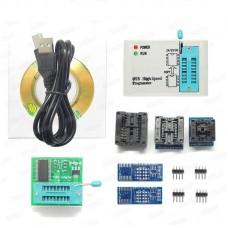EZP2019 High Speed USB Programmer w/ 6 Programmer Socket Adapters Fits 24 25 93 EEPROM 25 Flash