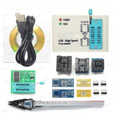 EZP2019 High Speed USB Programmer w/ 9 Programmer Socket Adapters Fits 24 25 93 EEPROM 25 Flash Chip