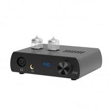 LOXJIE P20 Fully Balanced Headphone Amplifier Hifi Tube Amplifier 6N3 Desktop Headphone Amp Black