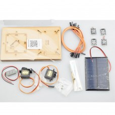 Wooden Solar Track Intelligent Solar Tracking Equipment  DIY STEM Programming Toys Parts For Arduino