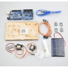 Intelligent Solar Tracking Equipment  DIY STEM Programming Toys Parts with Controller For Arduino