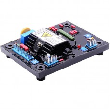 SX460-A Automatic Voltage Regulator Generator AVR Board Soft Glue Red Capacitors Fits Diesel Genset