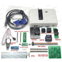 RT809H Universal Programmer Upgraded Version of 809F With 9 Adapters For NOR/NAND/EMMC/EC/MCU