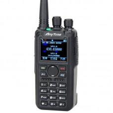 AnyTone AT-D878UVII Plus Bluetooth Handheld Transceiver Digital Walkie Talkie 10KM DMR/FM Dual-Mode