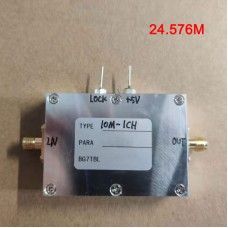 10M-1CH Frequency Converter Frequency Conversion Module IN 10M OUT 24.576M For Audio Communication