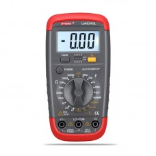 UYIGAO UA6243L LCR Meter LCR Tester Multimeter Tester Complete Functions w/ Backlit Digital Display