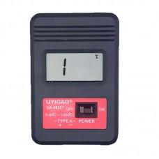 UYIGAO UA-902C+ Digital Thermo Hygrometer Portable Handheld Temperature Humidity Meter w/ Probes