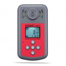 UYIGAO UA6070 Carbon Monoxide Meter 0-2000PPM CO Detector Meter With Audio Vibration And LED Alarms