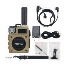 G6 Walkie Talkie Handheld Transceiver 5000KM 10W Wearable Two Way Radio Transceiver 400-470Mhz