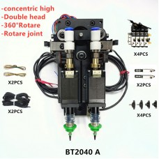 BT2040A SMT DIY Mountor Connector Nema8 Hollow Shaft Stepper with Driver for Pick Place Double Head