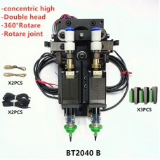 BT2040B SMT DIY Mountor Connector Nema8 Hollow Shaft Stepper with Driver for Pick Place Double Head