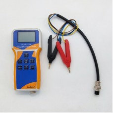 YK-VR1220H Lithium Battery Meter Tester Voltage & Resistance Meter w/ Clips For Battery Pack 18650