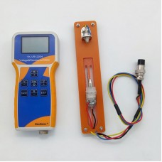 YK-VR1220H Lithium Battery Meter Voltage & Resistance Meter w/ Battery Holder For Battery Pack 18650
