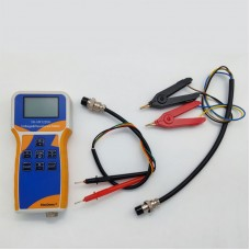 YK-VR1220H Lithium Battery Meter Voltage Resistance Meter w/ Clips Test Leads For Battery Pack 18650