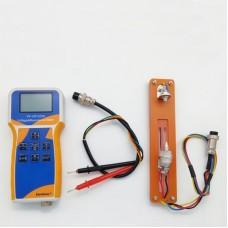 YK-VR1220H 18650 Lithium Battery Meter Voltage & Resistance Meter w/ Test Leads Battery Holder