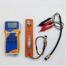 YK-VR1220H Lithium Battery Meter Voltage & Resistance Meter w/ Clips Battery Holder For Battery Pack