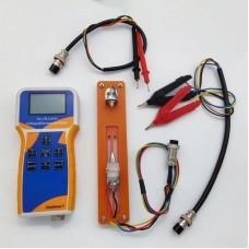 YK-VR1220H 18650 Lithium Battery Meter Voltage & Resistance Meter w/ Clips Test Leads Battery Holder