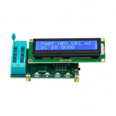 TES200 1602A IC Tester Integrated Circuit Tester Logic Gate Quality Tester For 74 Series 40 Series