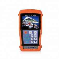 """TE-300 CCTV Tester PRO IPC Tester w/ 3.5"""" LCD 12V Output RS485 PTZ Control For Analog Cameras"""