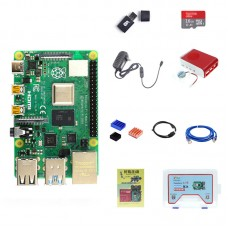 For Raspberry Pi 4 Model B 4GB RAM Raspberry Pi 4 Computer Model B Module Kit With 16GB SD Card