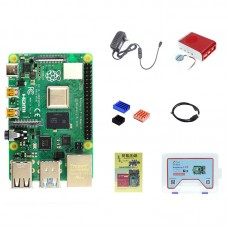 For Raspberry Pi 4 Model B 8GB RAM Raspberry Pi 4 Computer Model B Board Kit Without SD Card