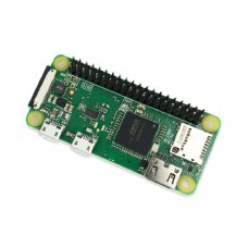 RPI ZERO WH Single Board Computer 1GHz CPU 512MB RAM With Pin Headers For Raspberry Pi ZERO WH