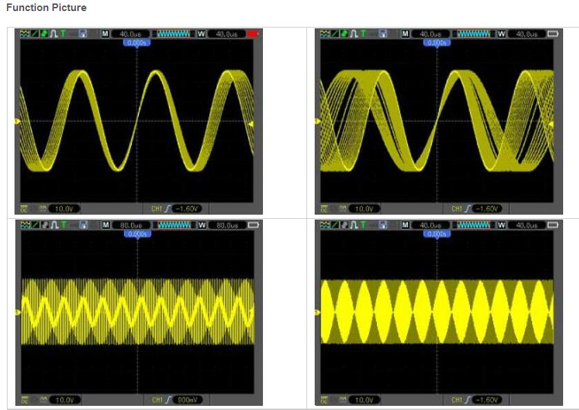 Computer Frequency Counter : Hantek dso e digital oscilloscope lcd usb pc recorder