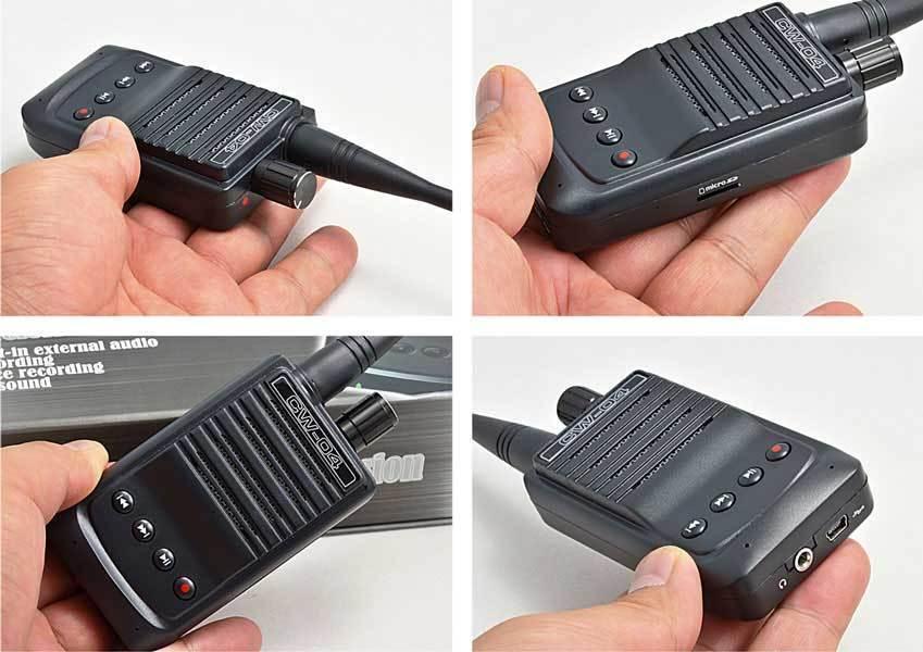 W03 wireless high sensitivity pickup mic  audio Transmitter receiver spy bug