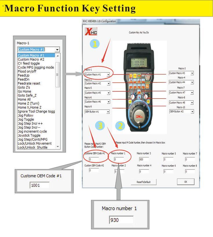 New Generation Mach3 4 Axis Wireless CNC Pendant Handwheel