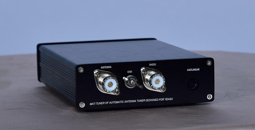 Automatic Antenna Tuner mAT-30 HF-SSB 120W Auto Tuner Ham Radio for Yeasu USA#