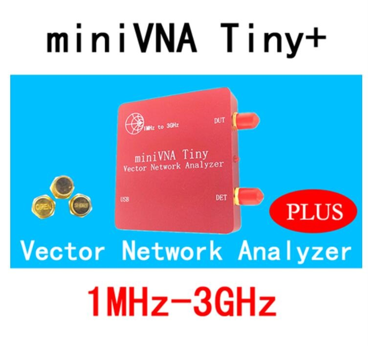 Details about 1M-3GHz Vector Antenna Network Analyzer Mini VNA Tiny+  VHF/UHF/NFC/RFID RF SWR