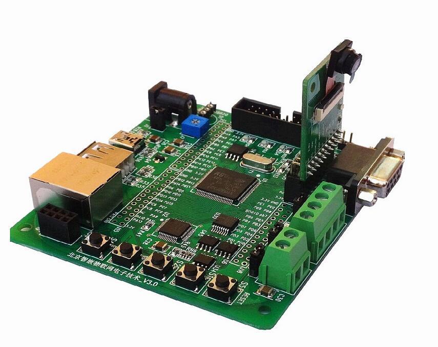 STM32F107 Development Board Ethernet RC522 Dual CAN 485 Zigbee