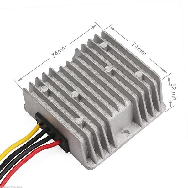 Universal DC Voltage Stabilizer Automatic Voltage Regulator 8-40V to 12V 6A 72W
