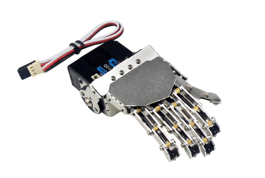 LewanSoul Hand-made Robotic Hand 5 Finger with Digital Servo and ...