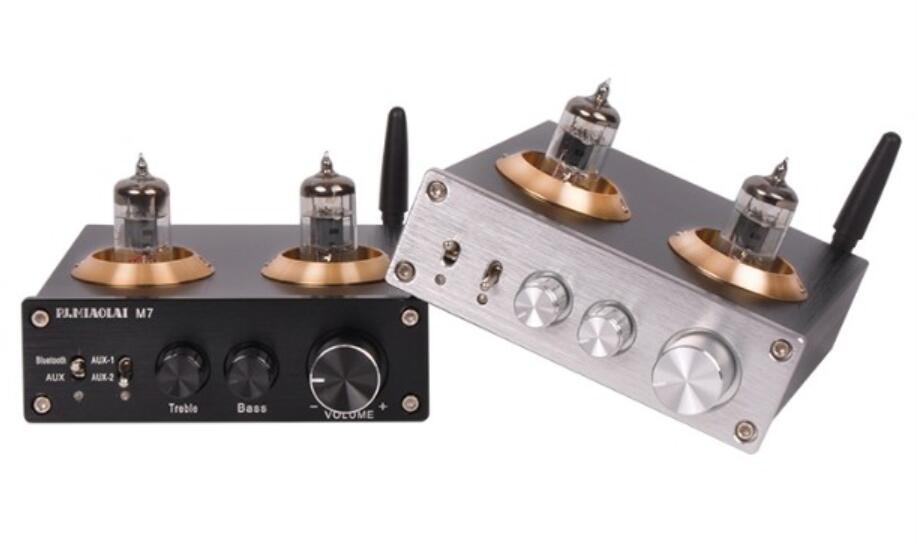 PJ MIAOLAI M7 Pre-Amplifier Fever Preamp HiFi Pure Bile 2-channel