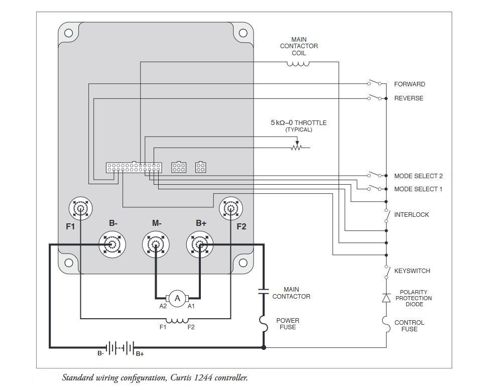 curtis 1244 controller wiring diagram: ebayrh:befr ebay be,design  pmc dc  motor speed controller for