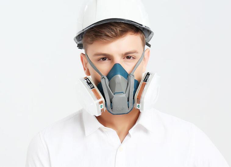 3M 650P 7PCS Suit Respirator Painting Spraying Face Gas ...