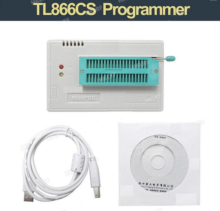 USB TL866CS Universal EPROM EEPROM FLASH Programmer MiniPro BIOS AVR