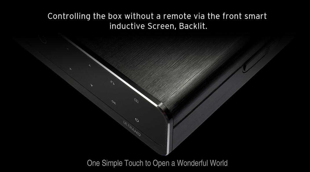 Q10 Pro 4K HDR Media Player HDR 2G/16G TV BOX WIFI 1000M 3 5