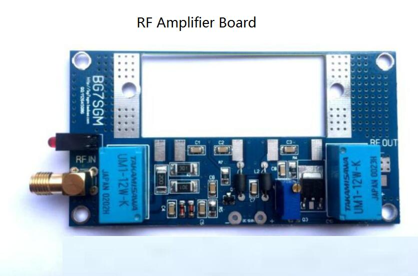 Details about RF Power Amplifier Board Transceiver Circuit PCB  Walkie-talkie Kit