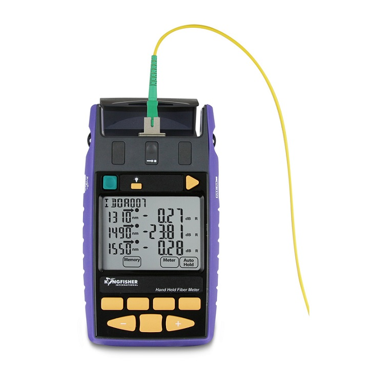 Hand Held Electrical Meters : Ki series hand held fiber meter nm wavelength