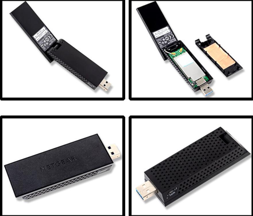Netgear A6210 AC1200 WiFi USB 3 0 Dual Band USB Adapter