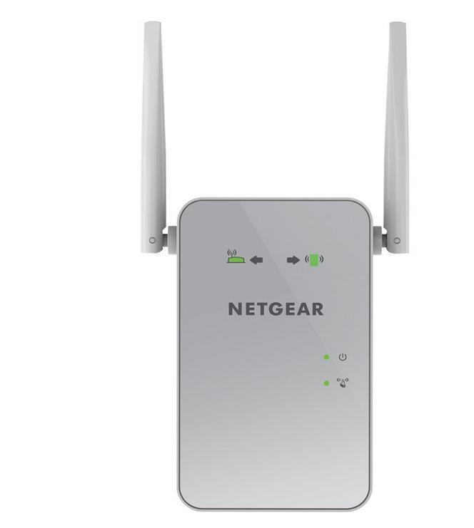 NETGEAR AC1200 WiFi Range Extender EX6150-100NAS Dual Band Gigabit 802.11ac sz-
